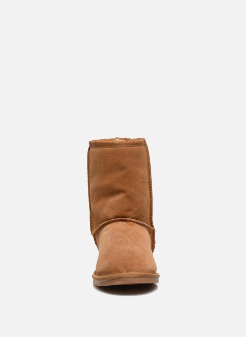 Ankle boots Les Tropéziennes par M Belarbi Snow Brown model view