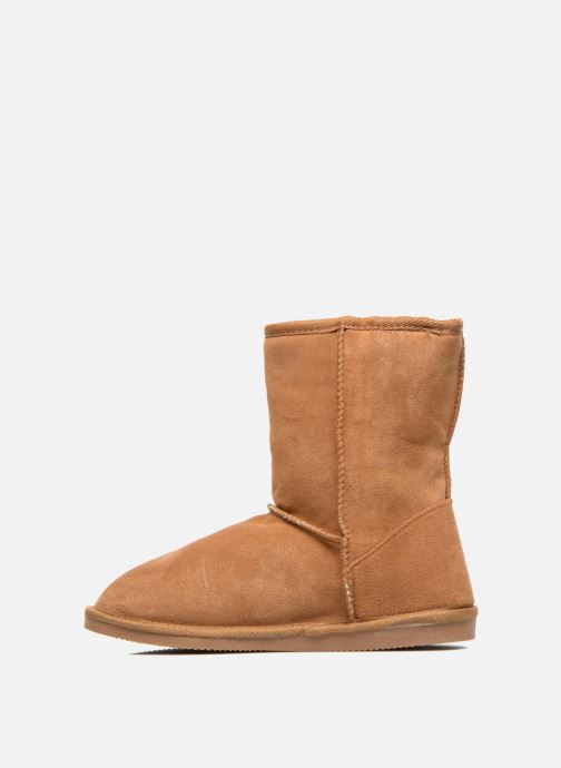 Ankle boots Les Tropéziennes par M Belarbi Snow Brown front view