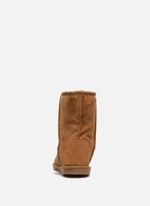Ankle boots Les Tropéziennes par M Belarbi Snow Brown view from the right