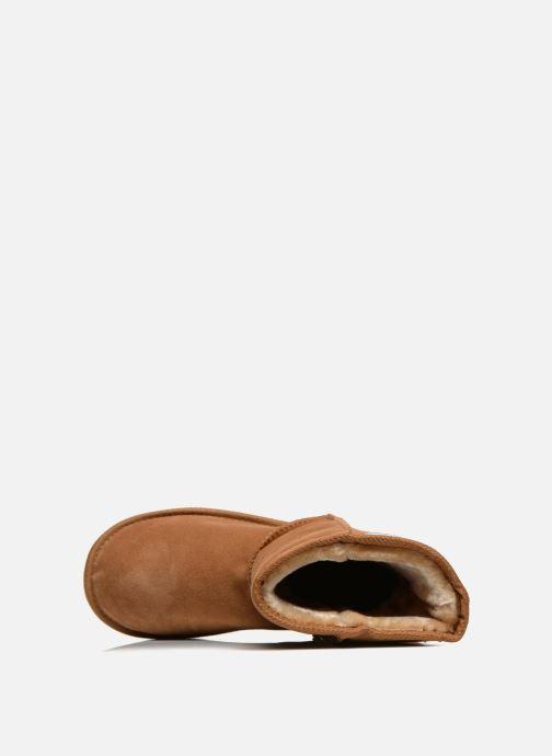 Ankle boots Les Tropéziennes par M Belarbi Snow Brown view from the left