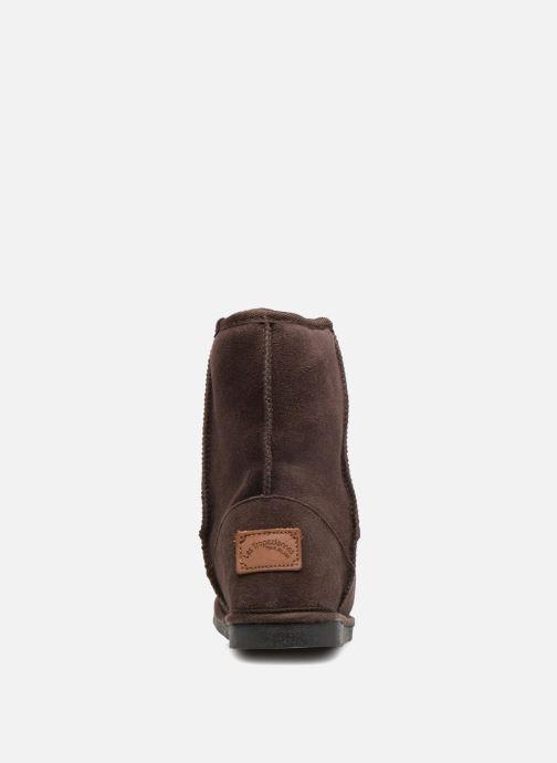 Bottines et boots Les Tropéziennes par M Belarbi Snow Marron vue droite