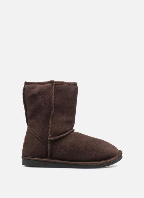 Bottines et boots Les Tropéziennes par M Belarbi Snow Marron vue derrière