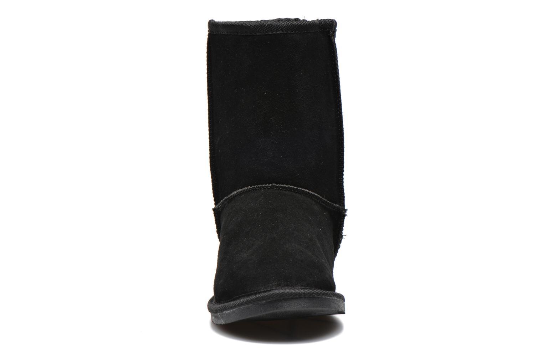 Bottines et boots Les Tropéziennes par M Belarbi Snow Noir vue portées chaussures