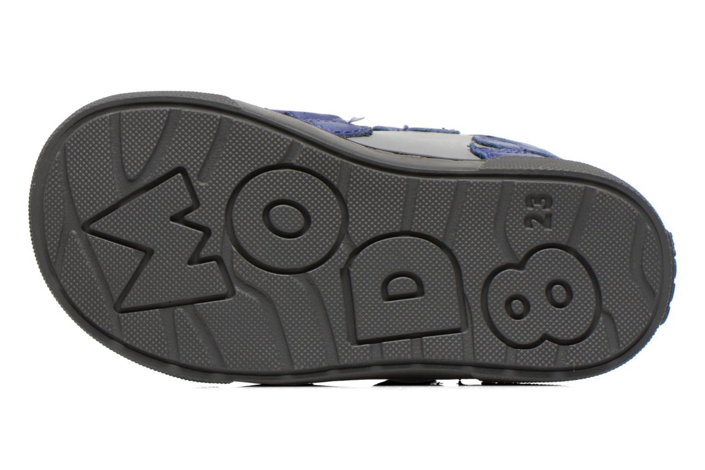 Chaussures à scratch Mod8 KINZO Gris vue haut