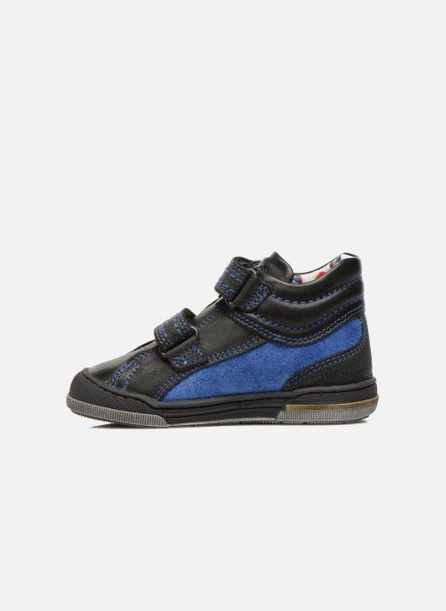 Velcro shoes Mod8 ZEPHIR Black front view