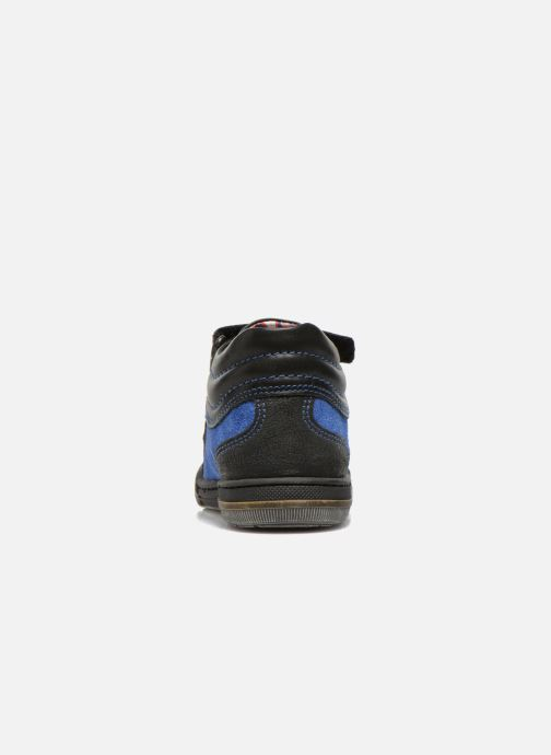 Velcro shoes Mod8 ZEPHIR Black view from the right