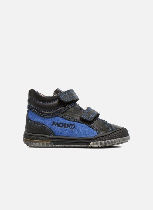 Velcro shoes Mod8 ZEPHIR Black back view