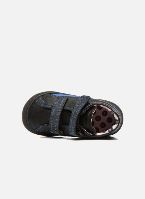 Schoenen met klitteband Mod8 ZEPHIR Zwart links