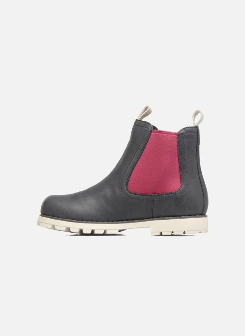 Ankle boots Camper Compas Grey front view
