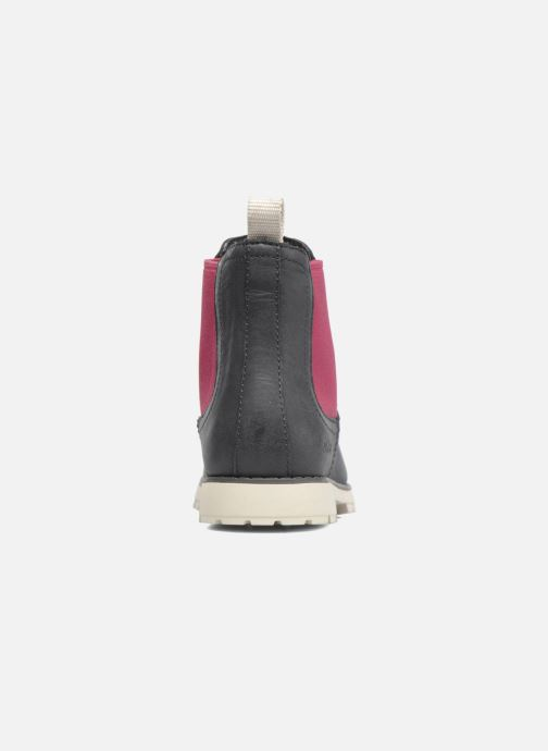 Ankle boots Camper Compas Grey view from the right