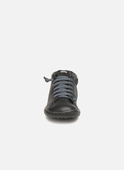 Bottines et boots Camper Peu Cami Kids 2 Noir vue portées chaussures