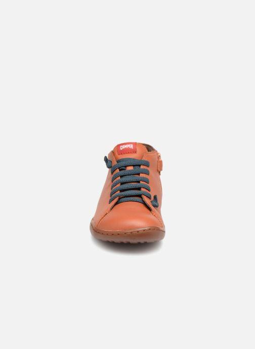 Bottines et boots Camper Peu Cami Kids 2 Marron vue portées chaussures