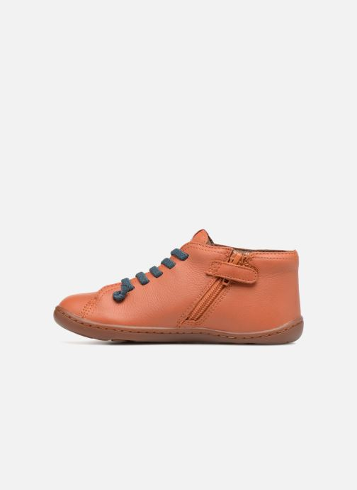Ankle boots Camper Peu Cami Kids 2 Brown front view