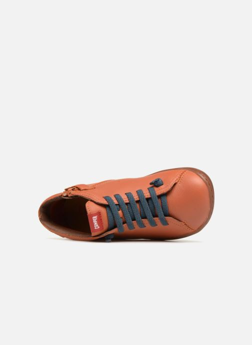 Ankle boots Camper Peu Cami Kids 2 Brown view from the left