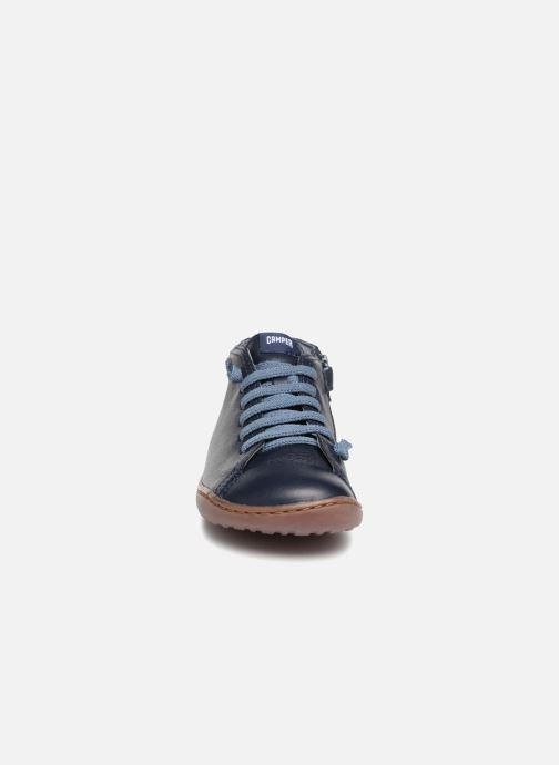 Stiefeletten & Boots Camper Peu Cami Kids 2 blau schuhe getragen