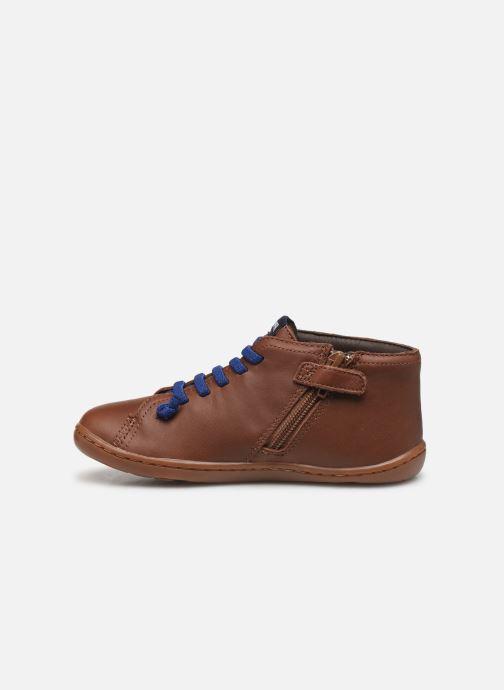Bottines et boots Camper Peu Cami Kids 2 Marron vue face