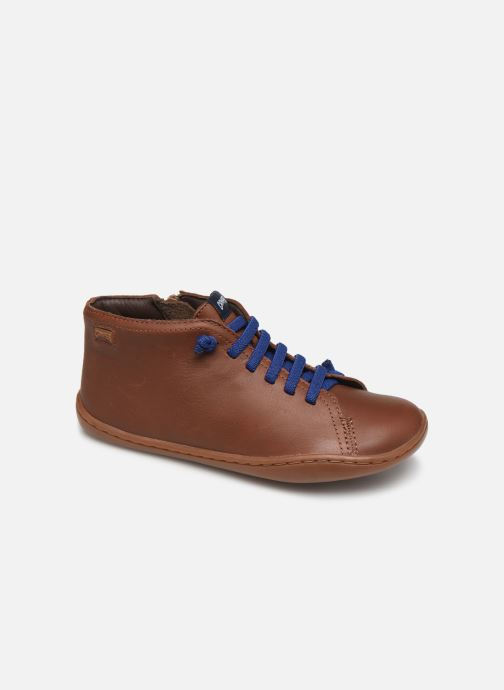 Ankelstøvler Camper Peu Cami Kids 2 Brun detaljeret billede af skoene