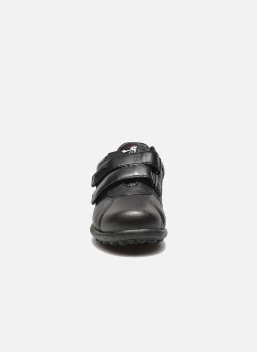 Chaussures à scratch Camper Pelotas Ariel Kids Noir vue portées chaussures