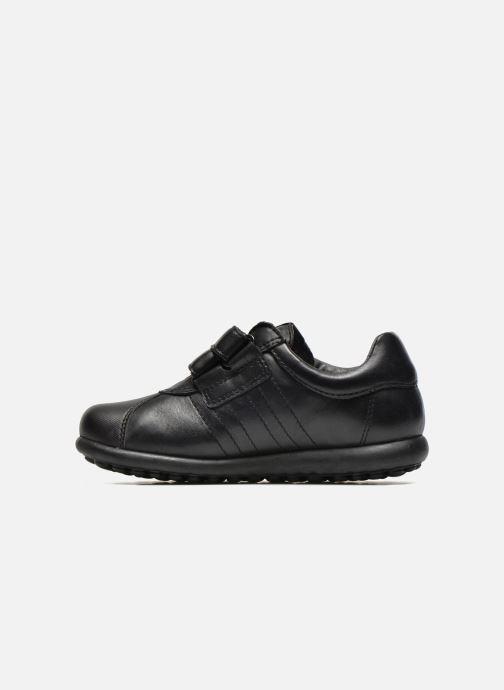 Zapatos con velcro Camper Pelotas Ariel Kids Negro vista de frente