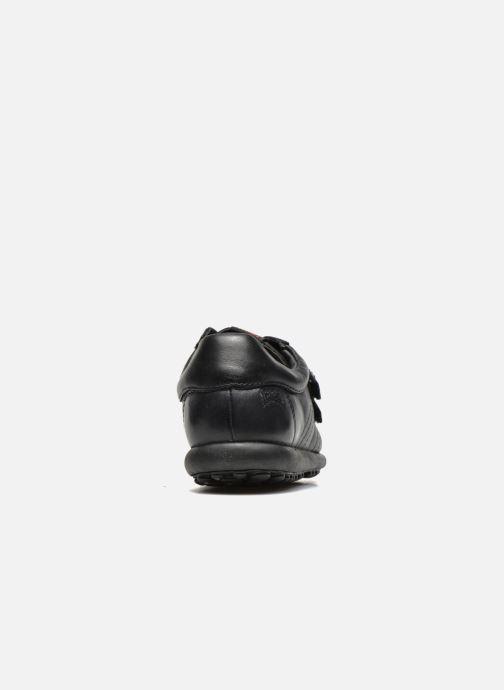 Chaussures à scratch Camper Pelotas Ariel Kids Noir vue droite
