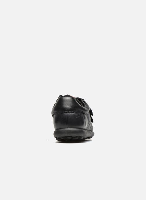 Velcro shoes Camper Pelotas Ariel Kids Black view from the right