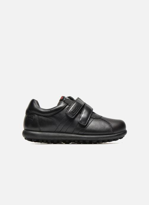 Chaussures à scratch Camper Pelotas Ariel Kids Noir vue derrière