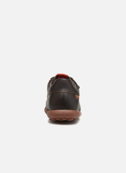 Velcro shoes Camper Pelotas Ariel Kids Brown view from the right