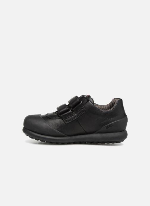 Chaussures à scratch Camper Pelotas Ariel Kids Marron vue face