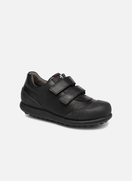 Chaussures à scratch Camper Pelotas Ariel Kids Marron vue détail/paire