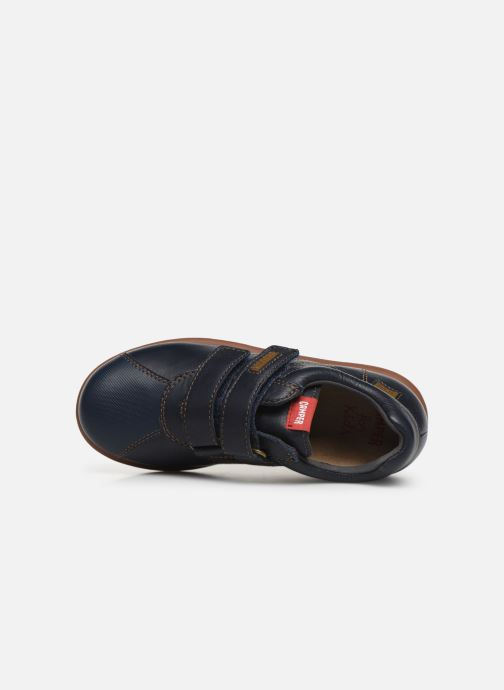 Chaussures à scratch Camper Pelotas Ariel Kids Bleu vue gauche