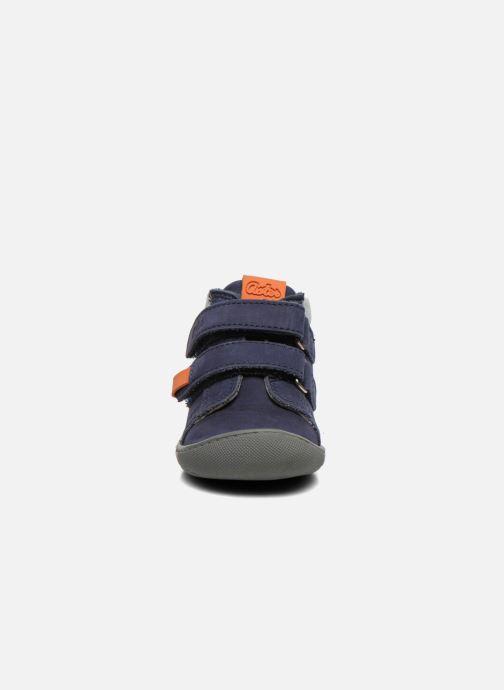 Scarpe con gli strappi Aster PIELL Azzurro modello indossato