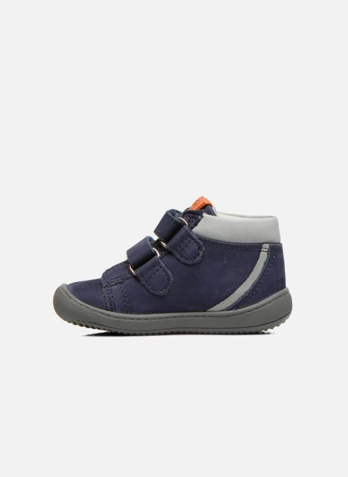 Velcro shoes Aster PIELL Blue front view