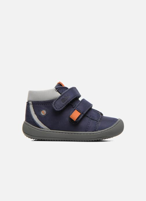 Velcro shoes Aster PIELL Blue back view
