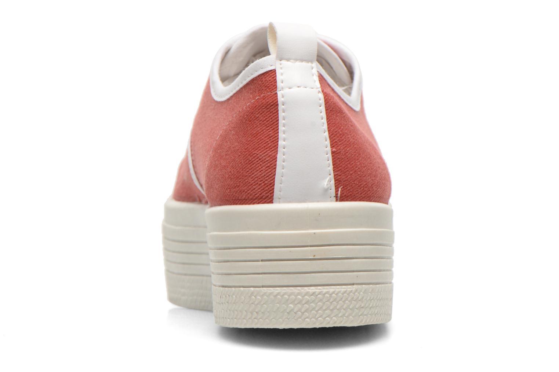 Baskets Ippon Vintage Yuka Casual Rouge vue droite