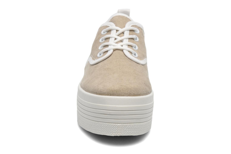 Baskets Ippon Vintage Yuka Casual Beige vue portées chaussures