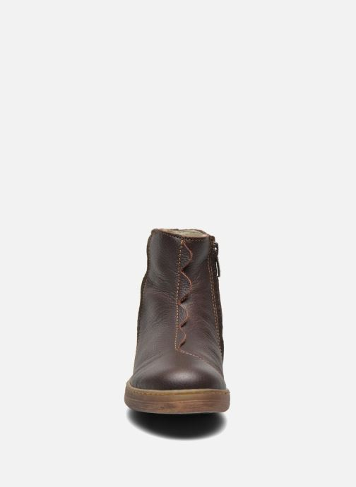 Ankle boots El Naturalista KEPINAE047 Brown model view