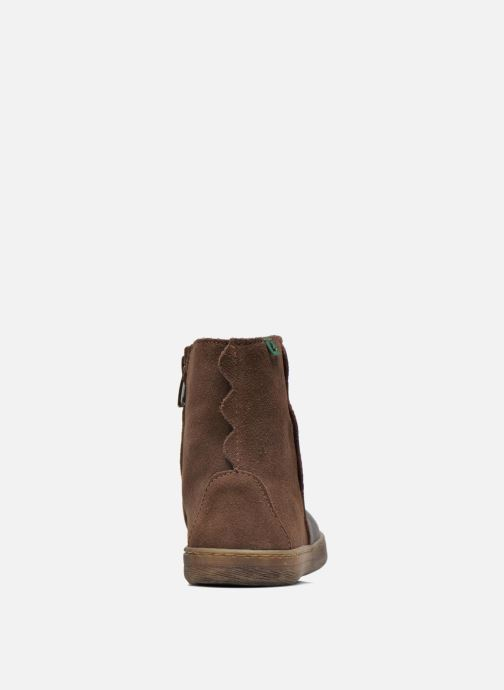 Ankle boots El Naturalista KEPINAE047 Brown view from the right
