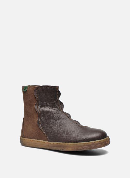 Bottines et boots El Naturalista KEPINAE047 Marron vue détail/paire