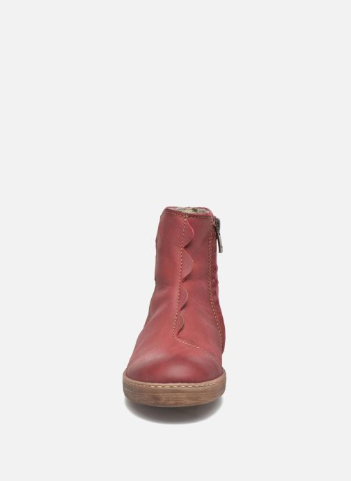 Bottines et boots El Naturalista KEPINAE047 Rouge vue portées chaussures
