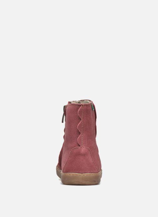 Bottines et boots El Naturalista KEPINAE047 Rouge vue droite