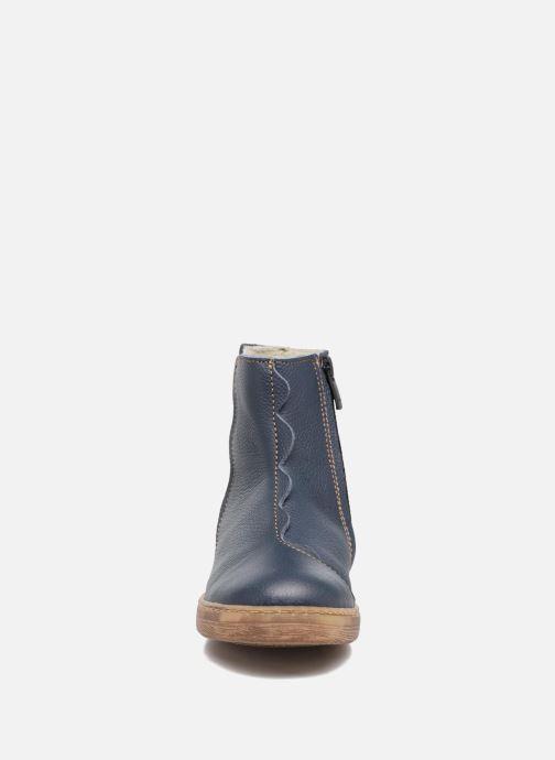 Ankle boots El Naturalista KEPINAE047 Blue model view
