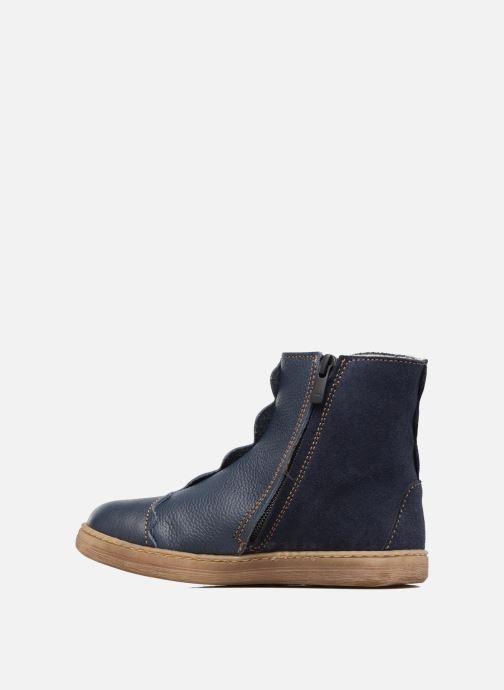 Ankle boots El Naturalista KEPINAE047 Blue front view