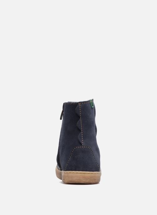 Ankle boots El Naturalista KEPINAE047 Blue view from the right
