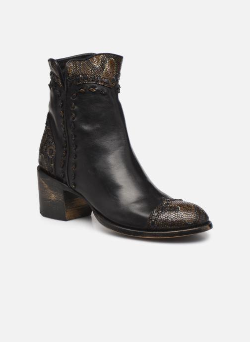 Boots en enkellaarsjes Mexicana CRITHIER Zwart detail