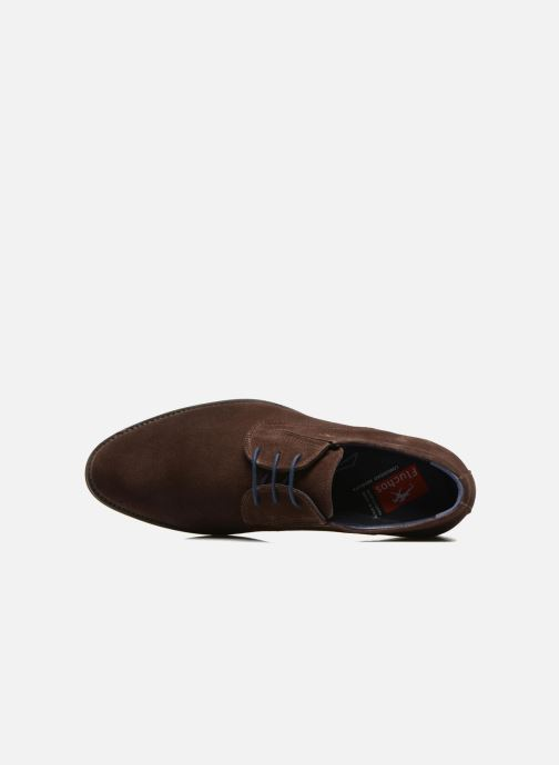Chaussures à lacets Fluchos Heracles 8410 Marron vue gauche