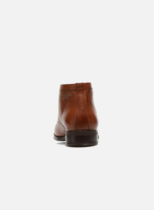 Zapatos con cordones Fluchos Heracles 8415 Marrón vista lateral derecha