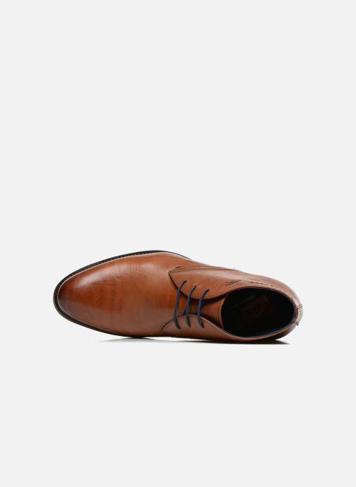 Zapatos con cordones Fluchos Heracles 8415 Marrón vista lateral izquierda