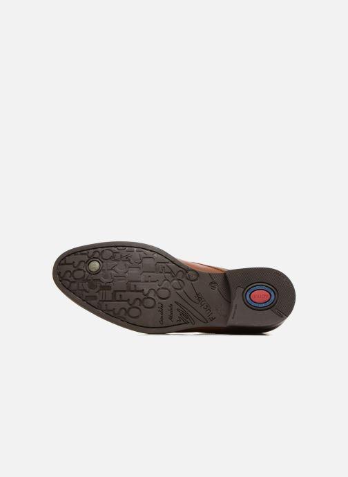 Zapatos con cordones Fluchos Heracles 8415 Marrón vista de arriba