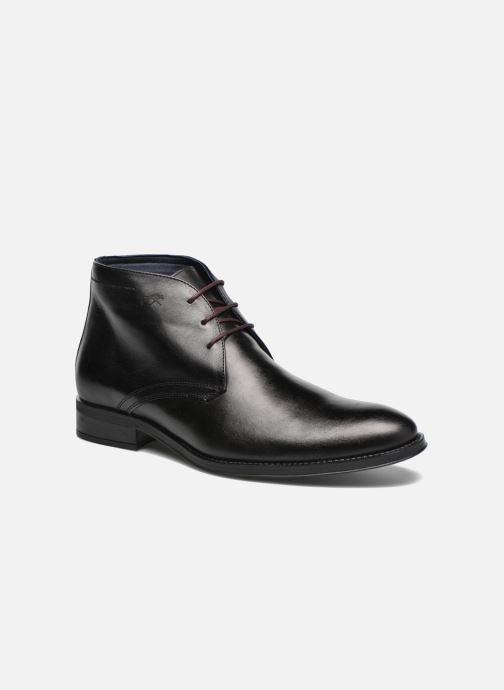 Chaussures à lacets Fluchos Heracles 8415 Noir vue détail/paire