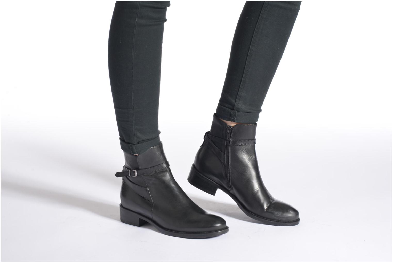 Bottines et boots Elizabeth Stuart Fez 294 Noir vue bas / vue portée sac